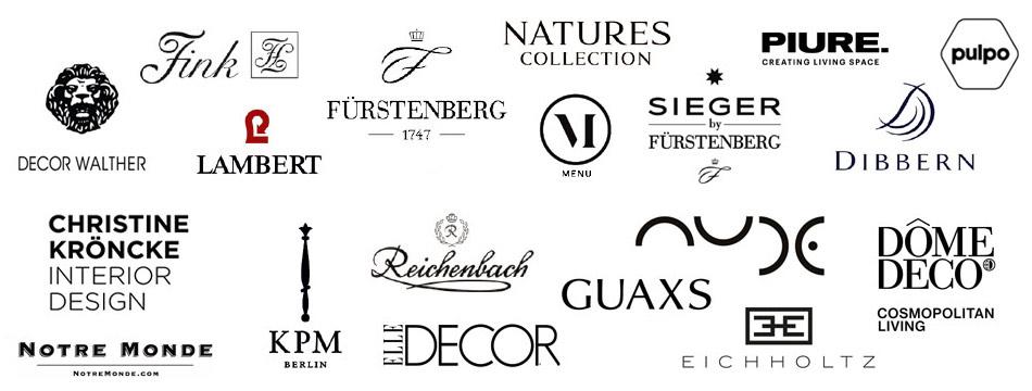 Corner 378 - Accessoires Einrichtungsberatung Dortmund - unsere Marken