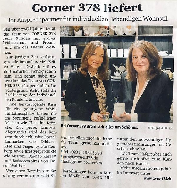 Corner 378 Dortmund in den Ruhr Nachrichten